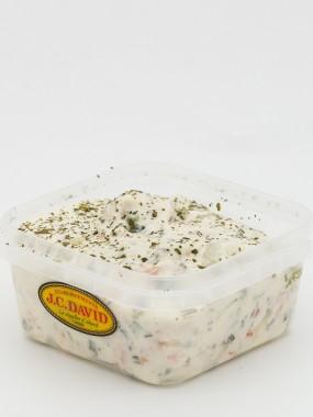 Salade de Saumon fumé fromage frais - 125 grs