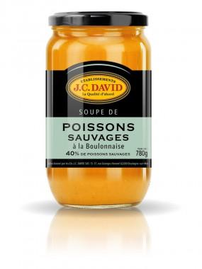 Soupe de Poissons sauvages 40% - 780 grs