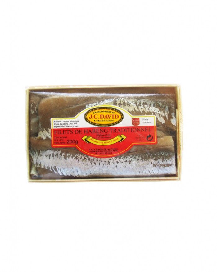 Filets de Hareng traditionnel - 200 grs