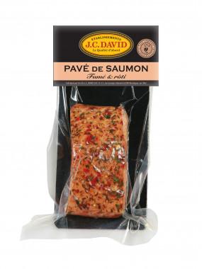 Pavé de Saumon rôti aux épices de Provence sous vide - 120 g