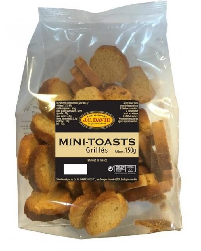 Minis toasts grillés - 150 g