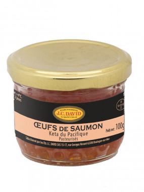 Oeufs de Saumon sauvage - 100 g
