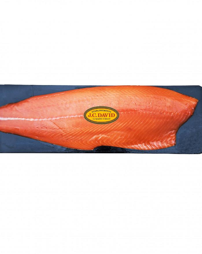 Filet de Saumon fumé d'Ecosse - Tranché - 1,6 kg