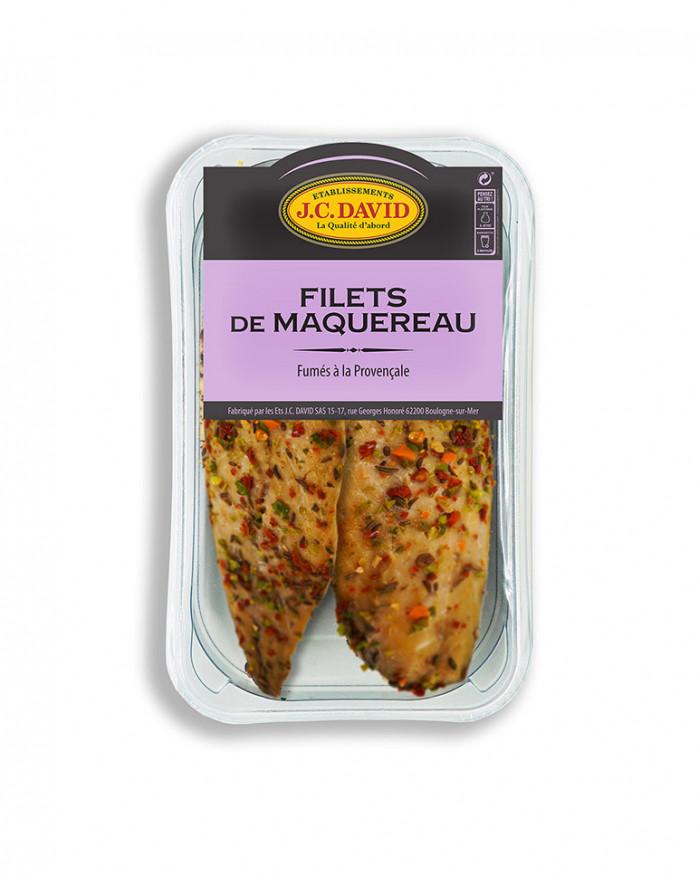 Filets de Maquereau fumés au poivre - 200 g