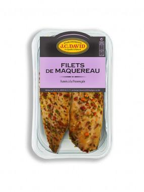 Filets de Maquereau fumés à la provençale - 200 g