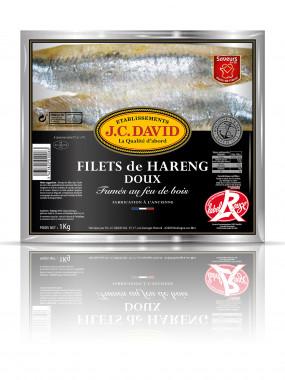 Filets de Hareng Doux sous vide - 1 kg