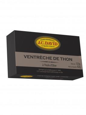 Ventrèche de Thon à l'huile d'olive - 125 g