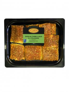 Dos de Cabillaud fumé à chaud à l'italienne - 1 kg