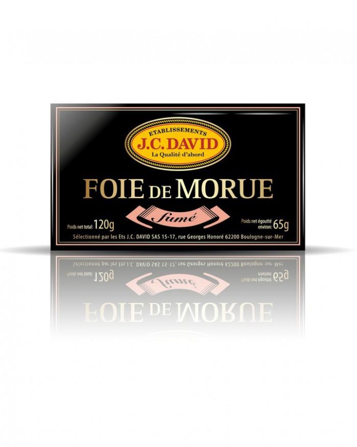 Foie de morue fumé 99% - 120 g