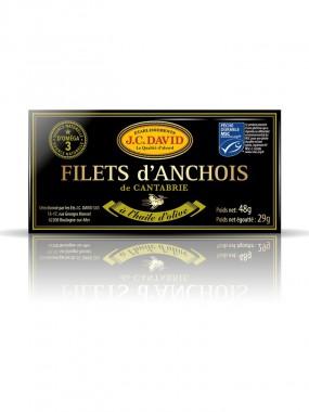 Véritables anchois de Cantabrie - 49 g